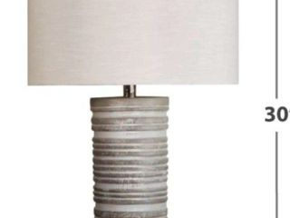 The Gray Barn Whispering Pines Paper Table lamp Set of 2