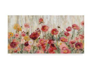 Silvia Vassileva  Sprinkled Flowers  Canvas Art