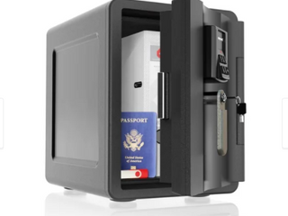 WaterProof Fire and Theft Safe Black