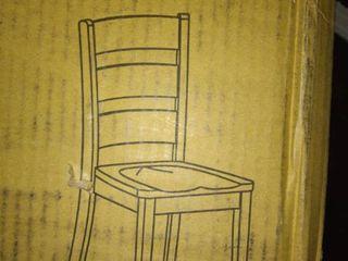 ladder Brown Side Chair