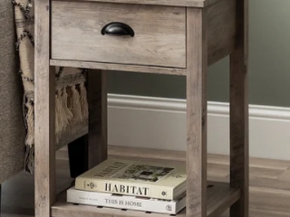 The Gray Barn 18 inch One Drawer Side Table  Retail 135 99