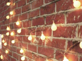 33FT Battery Powered Globe String lights with Remote   Medium