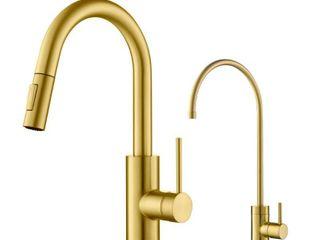 Kraus KPF 2620 Oletto 1 Handle 2 Function Pulldown Kitchen Faucet Retail 329 95
