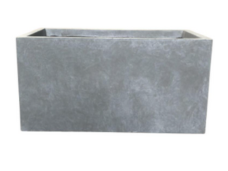 Natural lightweight Concrete Modern Square Outdoor Planter