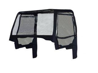 Classic Accessories 18 109 010401 00 UTV Cab Enclosure  Kawasaki  Black  Retail 101 99