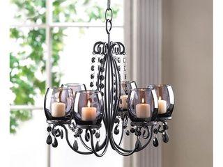 Romantic Elegant Glowing Candle Chandelier Retail 101 99