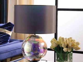 Artie ORG Iridescent Chrome Table lamp