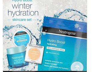 Neutrogena Hydro Boost Winter Gift Set With Hyaluronic Acid Gel Cream Women