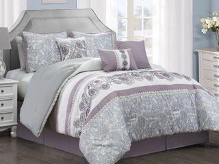 Elight Home King Size Seren 7 piece comforter set