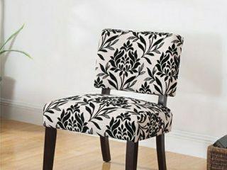 Best Master Furniture Black Floral Beige