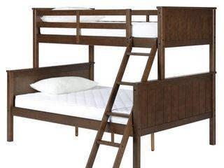 Avenue Greene Ivy Mocha Twin over Full Bunk Bed