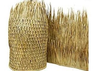 Backyard X scapes Mexican Palm Thatch Runner Roll  35in H x 60ft l