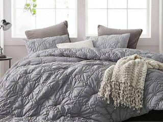 Farmhouse Morning Textured Bedding   Oversized Comforter   Alloy Retail 146 99