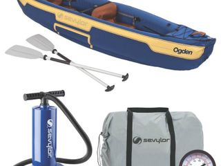 Coleman Sevylor Ogden 2 Person Canoe Combo