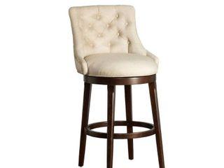 Hillsdale Furniture Halbrooke Swivel Bar Height Stool   22 25 W x 24 l x 42 5 H
