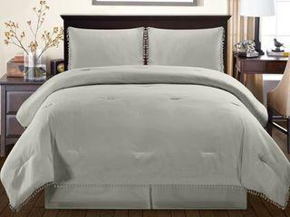 Impressions Edalene Down Alternative 3 Piece Comforter Set