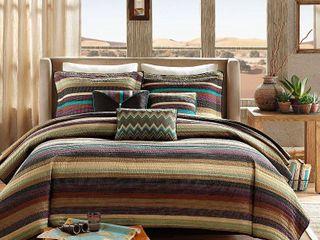 Home Essence Reyes Quilted Bedding Coverlet Set king cal king