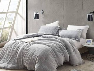 Coma Inducer Frosted Black Oversized Comforter   Twin Xl Twin