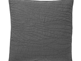 Belgian Flax linen Handcrafted Quilted Sham