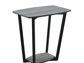 Convenience Concepts Graystone End Table  Multiple Finishes