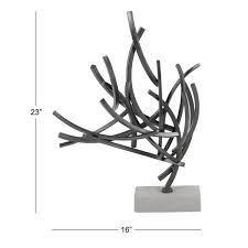 Strick   Bolton Tatum Metal Cement Sculpture