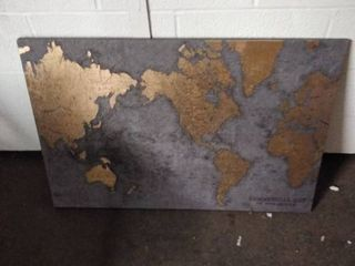 canvas map picture