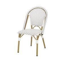 Elize Outdoor French Bistro Chairs set of 2