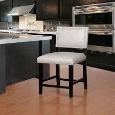 linon Garrett Dove Grey Wood  Foam  Fabric Counter Stool  Retail 111 49 dove grey