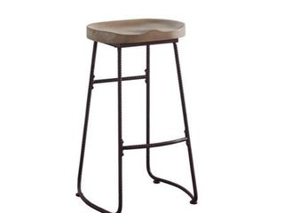 Industrial Driftwood Stool  Retail 92 49