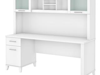 Copper Grove Shumen 72 inch Office Desk with Hutch  Retail 618 99