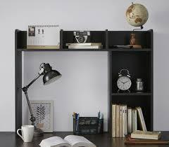 yakaboutit the classic desk bookshelf black