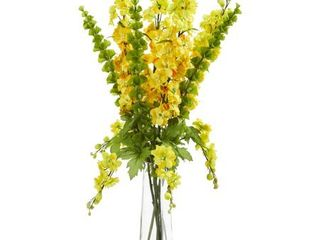 Nearly Natural Delphinium and Bell of Ireland Artificial Arrangement Retail 107 49