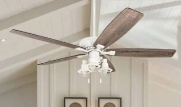 The Gray Barn Ascott 60 inch Coastal Indoor lED Ceiling Fan with Pull Chains 5 Reversible Blades   60 Retail 176 49