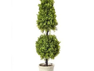 Regency Spring Boxwood Ball Cone Topiary 34