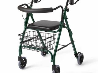 Medline Deluxe Aluminum Rollator Walker Retail:$94.49