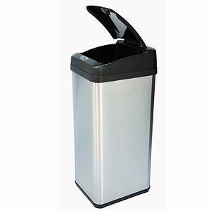 iTouchless 13 gallon Square Extra Wide Opening Trash Can Retail 99 96
