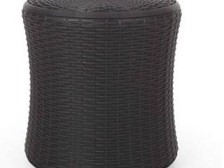 Olivo Outdoor Faux Wicker Patio Table by Christopher Knight Home Retail 82 99