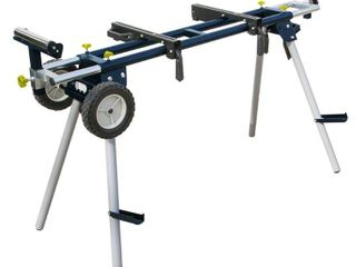 POWERTEC MT4000 Deluxe Portable Miter Saw Stand with Wheels