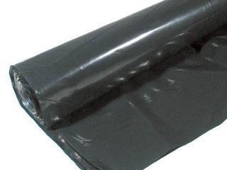 POlY AMERICA 410B 10 Feet X 100 Feet 4 Mil Black Plastic Sheeting