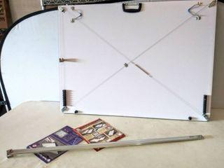 Martin Pro Draft Parallel Edge Board Drawing Kit   31  x 42  XXX large  White  Damaged