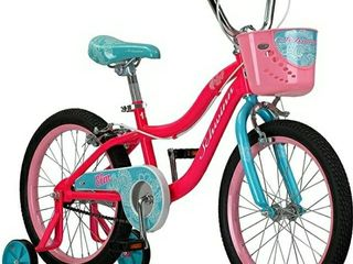 Schwinn Elm Girls Bike for Toddlers and Kids 14 inch wheels for Ages 2 Years and Up  Pink  Balance or Training Wheels  Adjustable Seat  Missing Chain