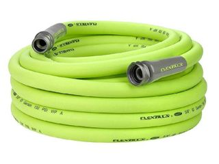 Flexzilla Garden Hose  5 8 in  x 50 ft  lightweight  Drinking Water Safe   Appears to have been Used