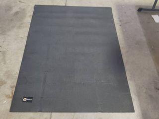 6ft X 4ft Cambivo Exersize Mat With Microfiber Towel