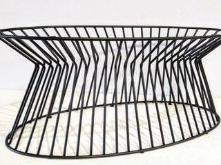 36  Iron Pedestal Style Coffee Table Base
