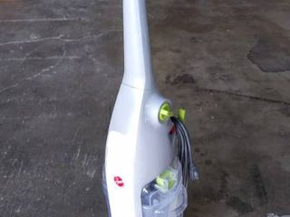Hoover FloorMate Deluxe Hard Floor Cleaner  Plugged in   Powered On