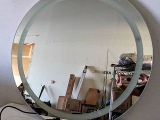 Sirius 29 75  Round Vanity Mirror  light Does Not Come On
