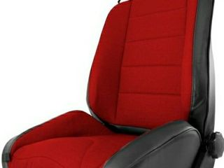 Rugged Ridge 13448 53 Black with Red Insert XHD Off Road Reclining Front Seat