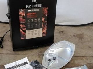 Masterbuilt MES 130 B Digital Electric Smoker   Model   MB20071117   Tested   Appears to be Working  Dented