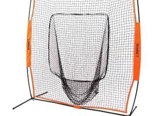 Bownet Big Mouth PRO  Portable Baseball and Softball Hitting Net  8  x 8