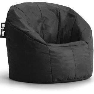 Big Joe Milano Bean Bag Chair  Regular  Smartmax Stretch limo Black
